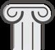 marble pedestal icon